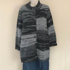 J. Jill Long Gray Sweater