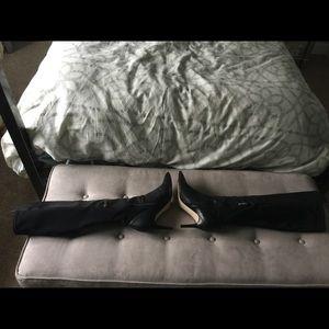 EUC Ivanka Trump Sz 11 Heeled Boots Pointe Toe HOT