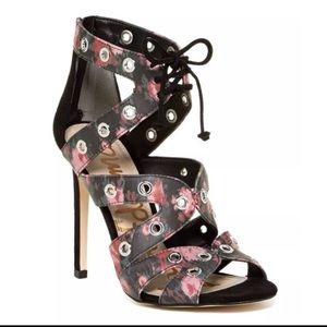 Sam Edelman Floral Studded Heels
