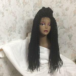 Blunt braided wig