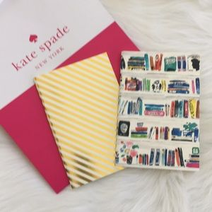 🌲🎁🆕♠️Kate Spade New York Notebook Set/2🌲🎁