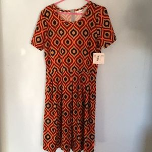 LuLaRoe Amelia Dress. NWT 2xl