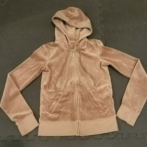 Juicy Couture Velour J Bling Hoodie