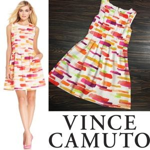 NWOT VINCE CAMUTO fit and flare dress