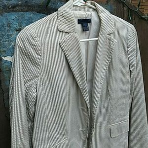 J. Crew Pin Striped Blazer Jacket