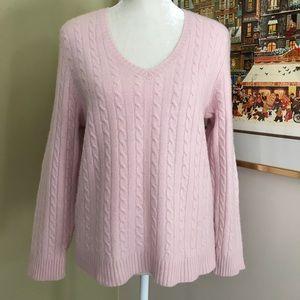 L.R.Lauren cashmere sweater