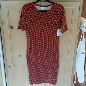 Lularoe Julia dress size S