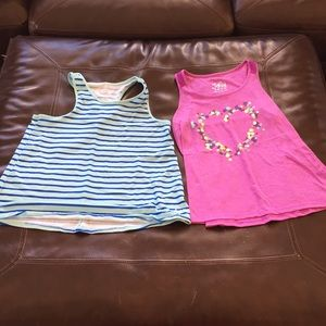 Girls Justice Active Tank Tops