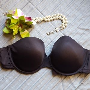 NEW Panache Superbra Porcelain strapless Bras 32DD