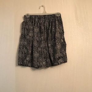Nike Vintage 90's Abstract Print Running Shorts M