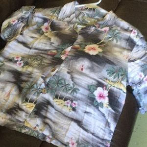Tommy Bahama button down blouse