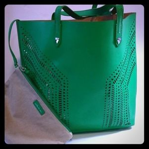 Stella & Dot Kelly Green Fillmore Tote