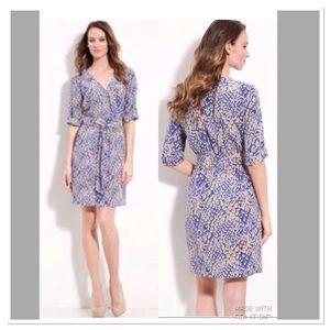 presley skye* silk crepe de chine dress