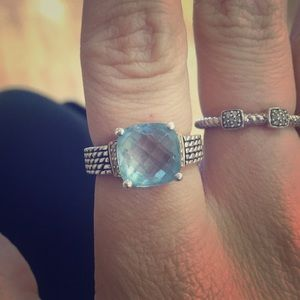 Gorgeous David yurman style ring
