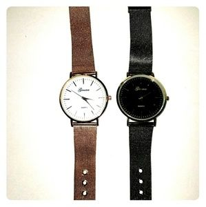 Women mesh watch