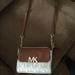 Small Michael Kors cross body purse