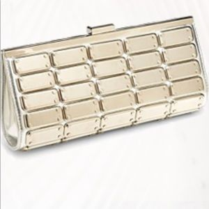 "Steve Madden ""Plated "" Clutch"