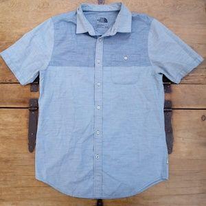 North Face Button Up Short Sleeve Shirt