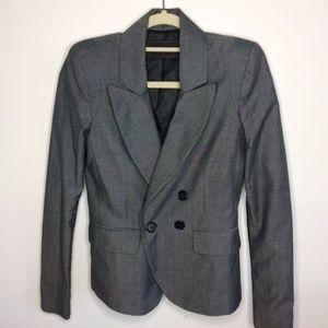 BCBGMAXAZRIA Gray Blazer Jacket