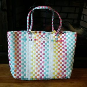 KATE SPADE Woven Oversize Tote Bag