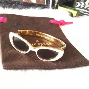 Kate spade cat eye glasses bangle