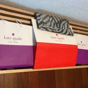 💜🧡🍬🍭💕Kate Spade gift bags and tissue paper