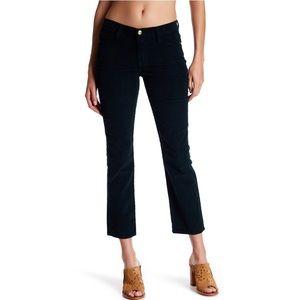 Frame Le High Straight Corduroy Jeans deep blue