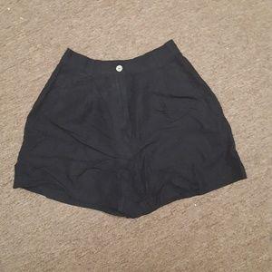Hi rise work shorts