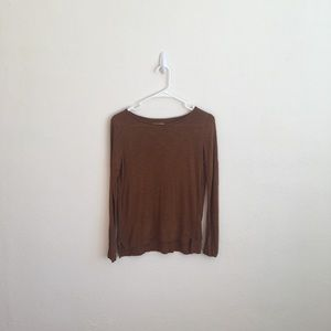 Madewell Whisper Crewneck Long Sleeve