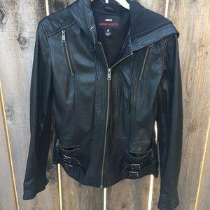 Miss Sixty Black Leather Jacket