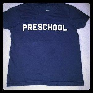 Preschool tshirt