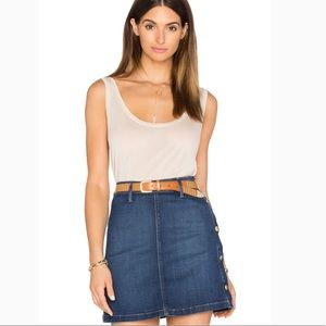 Frame le Slouchy Scoop Neck Tank