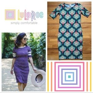 LuLaRoe 🦄 Scroll Pattern Julia Dress
