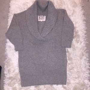 Lamswool blend chunk v-neck sweater