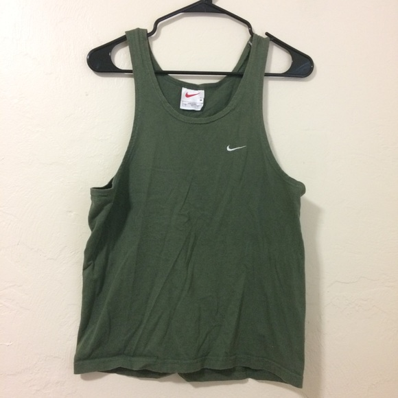Nike Tops - Dark Green Nike Workout Tank
