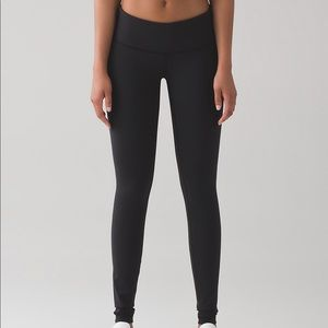 Lululemon Wunder Under Pant III Black Size 6 NWT