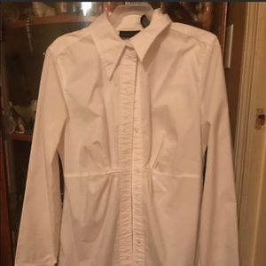 New York & Co Button Down blouse .. size 4