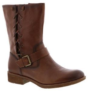 Sofft Belmont mid calve moto buckle braid boot