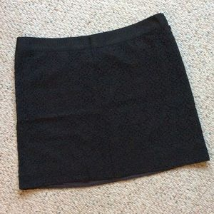 J crew lace skirt