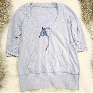 Lululemon | Blue Savasana Pullover Sweatshirt