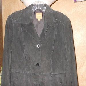JOHN CARLISLE*NWT*Suede Jacket!! Small