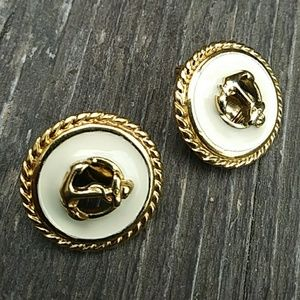 Monet Vintage Clip On Earrings plus One More