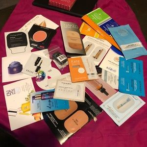 Sephora samples & Bags