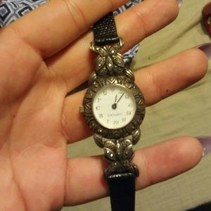 Sterling silver womens watch