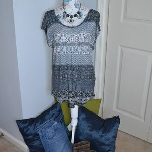 Lucky Brand tunic length shirt