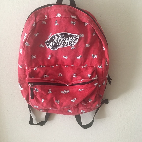 vans dalmatian backpack