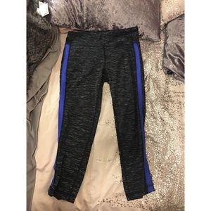 90 degree by reflex black marl workout leggings