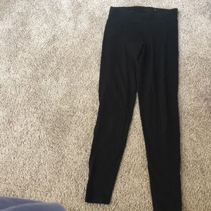 Victoria secret pink black leggings