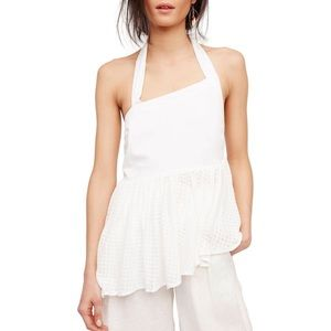 Free People Can't Get Enough Halter Tank