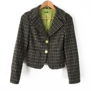 UNITED COLORS OF BENETTON BLAZER NWOT